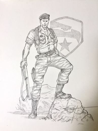 Ron Rudat G.I.Joe Art - Surveillance Port (1)