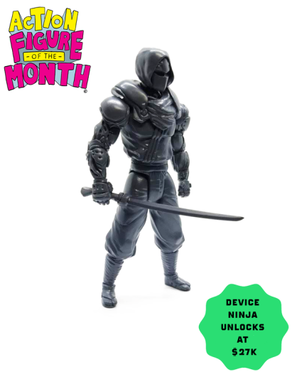 Toy Pizza Action Figure of the Month Device Ninja - Surveillance Port