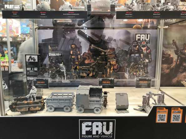 Toys Alliance Acid Rain World Taipei Toy Festival 2018 - Surveillance Port 01