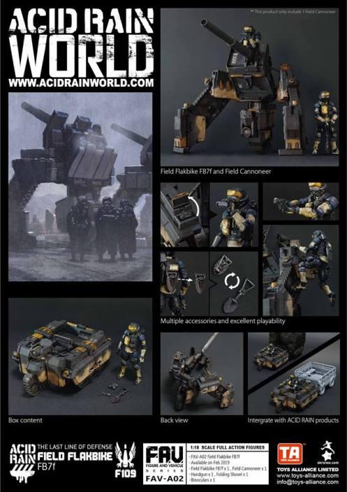 Acid Rain World Toys Alliance Field Flakbike FB7f - Surveillance Port (4)