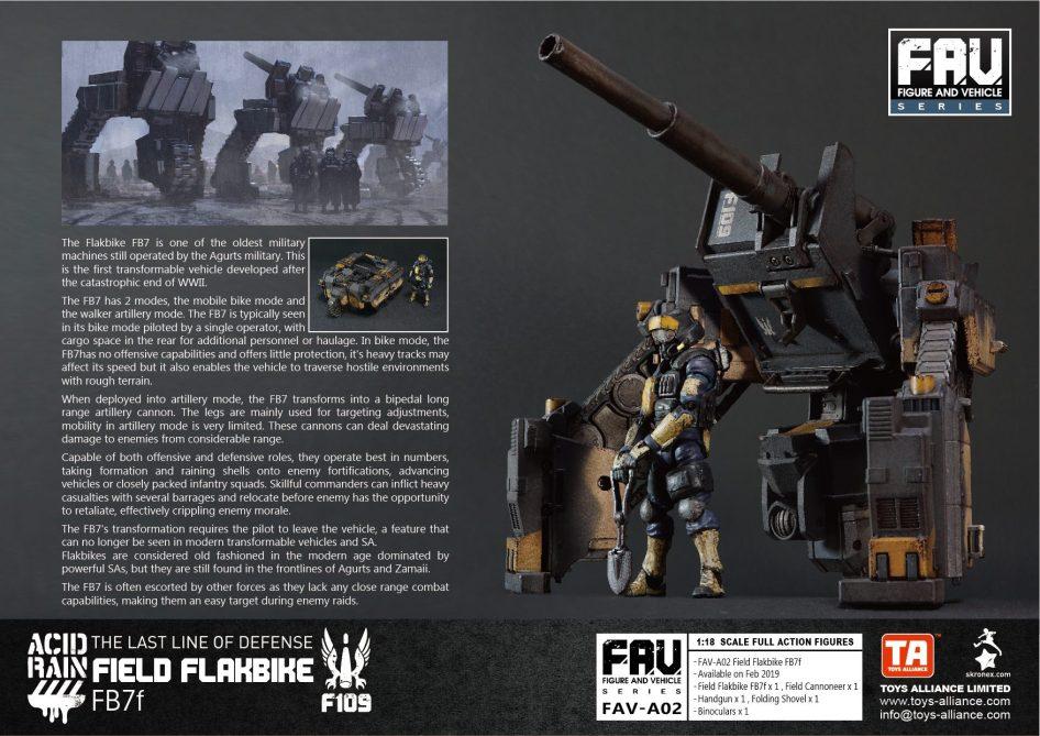 Acid Rain World Toys Alliance Field Flakbike FB7f - Surveillance Port (5)