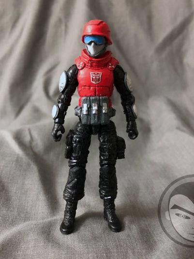 Airmax Transformers vs GI Joe Custom Crossover Autobot Cliffjumper - Surveillance Port 02