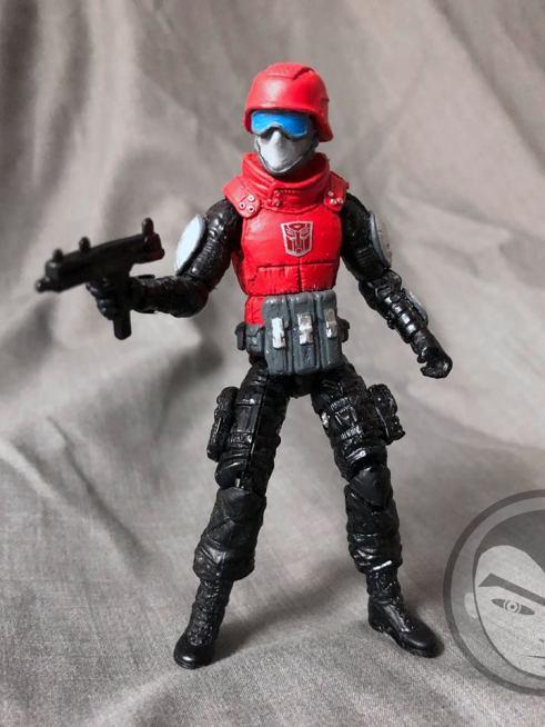 Airmax Transformers vs GI Joe Custom Crossover Autobot Cliffjumper - Surveillance Port 03