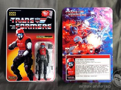 Airmax Transformers vs GI Joe Custom Crossover Autobot Cliffjumper - Surveillance Port 05