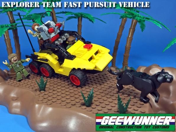 Geewunner Captured Prey Explorer Team Fast Pursuit Vehicle - Surveillance Port 01