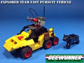 Geewunner Captured Prey Explorer Team Fast Pursuit Vehicle - Surveillance Port 02