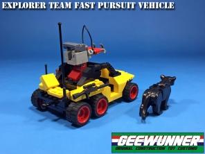 Geewunner Captured Prey Explorer Team Fast Pursuit Vehicle - Surveillance Port 03