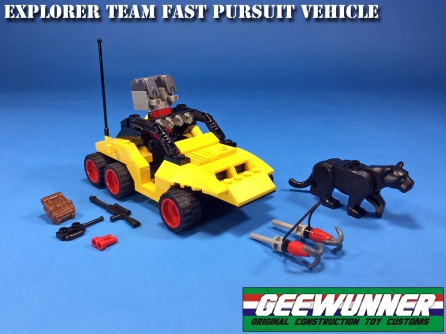 Geewunner Captured Prey Explorer Team Fast Pursuit Vehicle - Surveillance Port 04