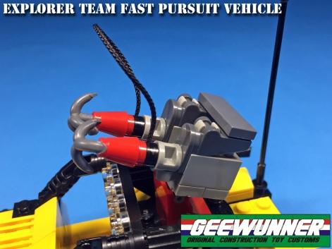 Geewunner Captured Prey Explorer Team Fast Pursuit Vehicle - Surveillance Port 05
