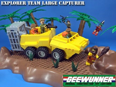 Geewunner Captured Prey Explorer Team Large Capturer - Surveillance Port 01