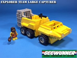 Geewunner Captured Prey Explorer Team Large Capturer - Surveillance Port 02