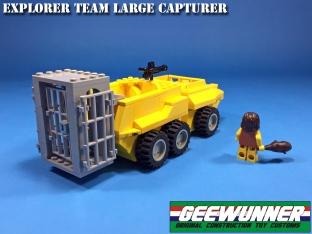 Geewunner Captured Prey Explorer Team Large Capturer - Surveillance Port 03