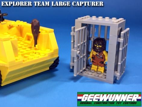 Geewunner Captured Prey Explorer Team Large Capturer - Surveillance Port 04