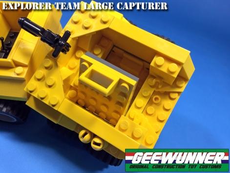 Geewunner Captured Prey Explorer Team Large Capturer - Surveillance Port 05