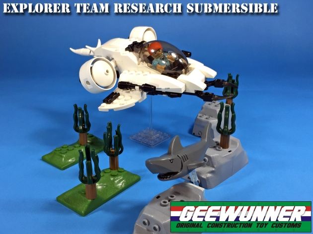 Geewunner Captured Prey Explorer Team Research Submersible - Surveillance Port 01