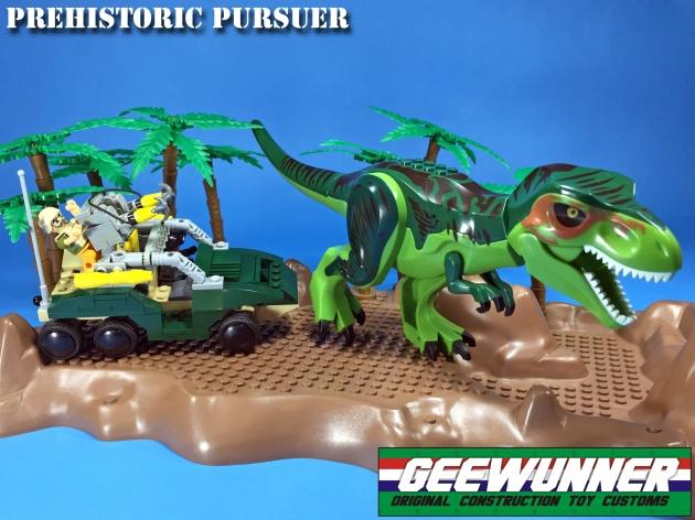 Geewunner Captured Prey Prehistoric Pursuer - Surveillance Port 01