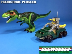 Geewunner Captured Prey Prehistoric Pursuer - Surveillance Port 02