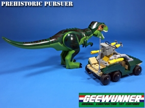 Geewunner Captured Prey Prehistoric Pursuer - Surveillance Port 03
