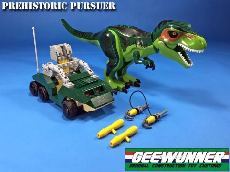 Geewunner Captured Prey Prehistoric Pursuer - Surveillance Port 04