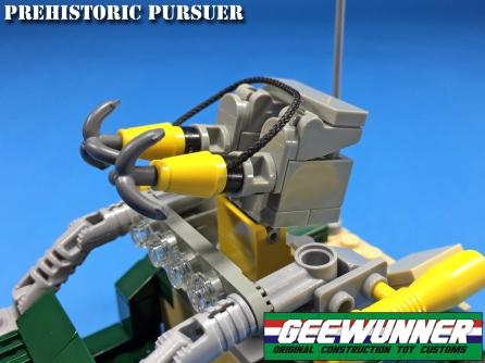 Geewunner Captured Prey Prehistoric Pursuer - Surveillance Port 05