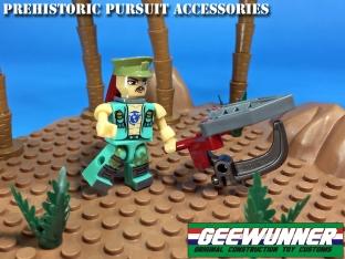 Geewunner Captured Prey Prehistoric Pursuit acessories - Surveillance Port 02