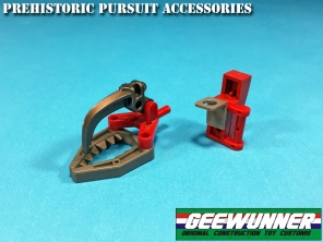 Geewunner Captured Prey Prehistoric Pursuit acessories - Surveillance Port
