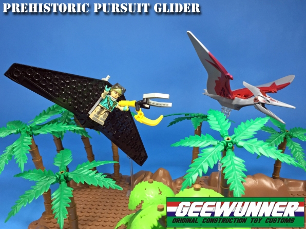 Geewunner Captured Prey Prehistoric Pursuit Glider - Surveillance Port 02