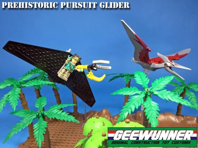 Geewunner Captured Prey Prehistoric Pursuit Glider - Surveillance Port 02