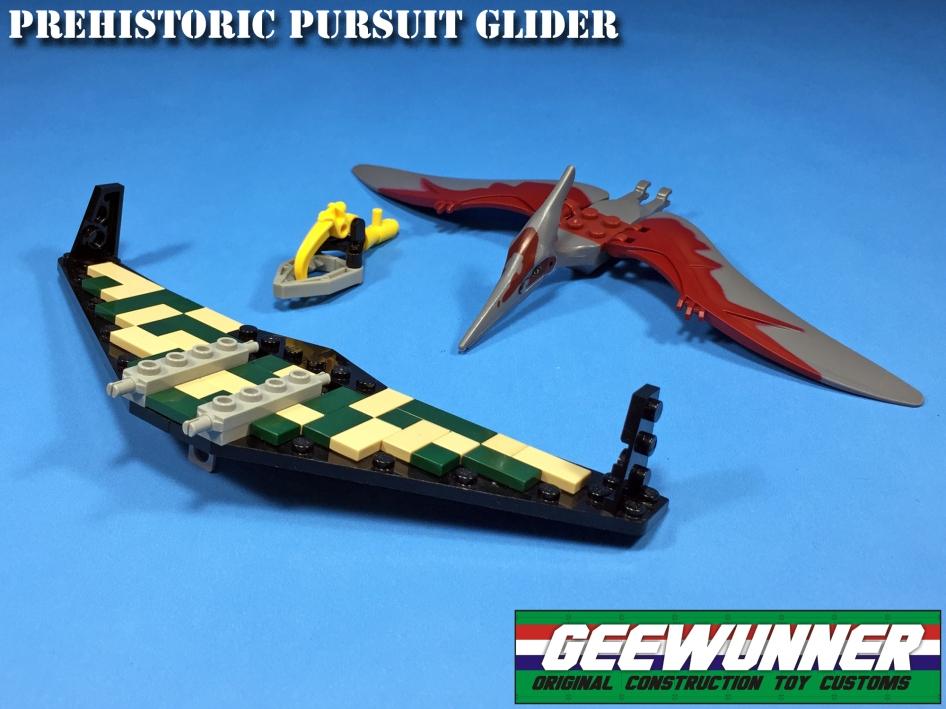 Geewunner Captured Prey Prehistoric Pursuit Glider - Surveillance Port