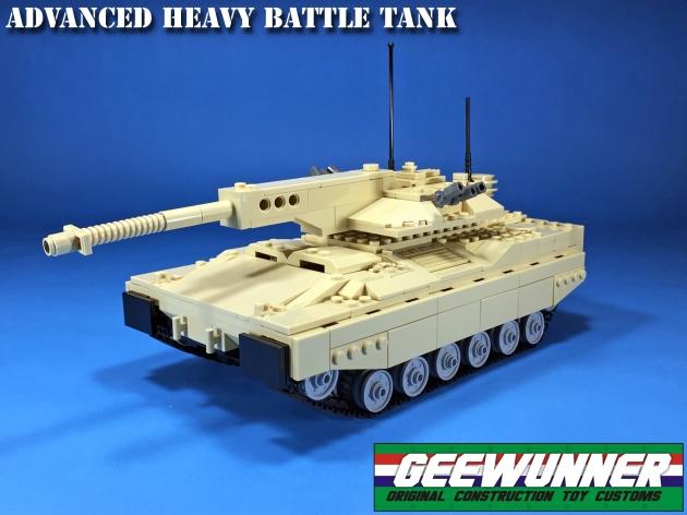 Geewunner Customs Advanced Heavy Battle Tank - Surveillance Port (1)