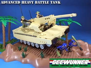 Geewunner Customs Advanced Heavy Battle Tank - Surveillance Port (2)