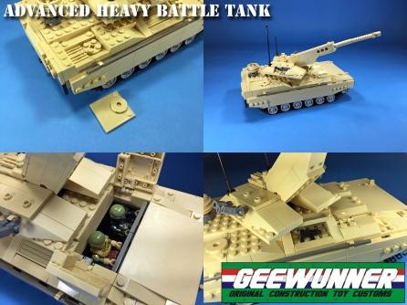 Geewunner Customs Advanced Heavy Battle Tank - Surveillance Port (4)