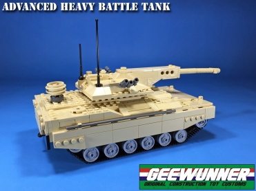 Geewunner Customs Advanced Heavy Battle Tank - Surveillance Port (5)