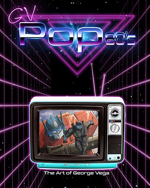 George Vega Art GV Pop 80s - Surveillance Port (1)