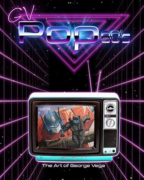 George Vega Art GV Pop 80s - Surveillance Port (1)