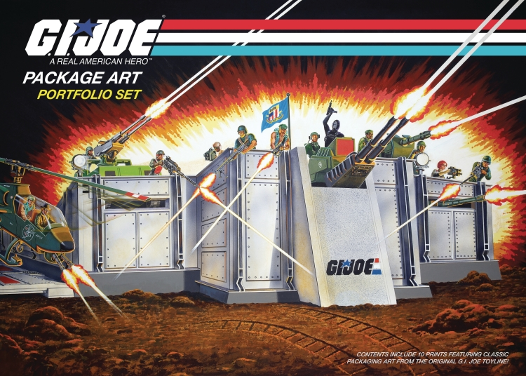 GI Joe Packaging Art Portfolio Set - Surveillance Port