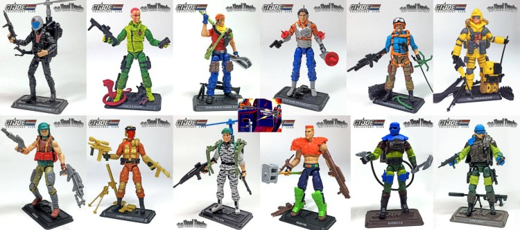 GIJCC The Final 12 GI Joe Assortment - Surveillance Port