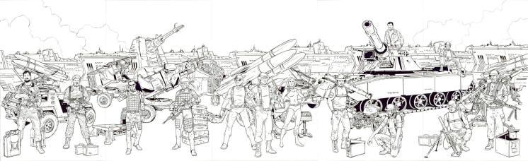 Jay Sullivan GI Joe Original 13 Artwork - Surveillance Port 02