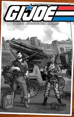 Jay Sullivan GI Joe Original 13 Artwork - Surveillance Port 07