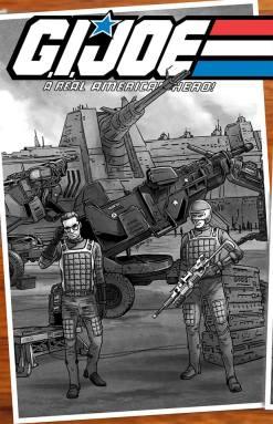 Jay Sullivan GI Joe Original 13 Artwork - Surveillance Port 08