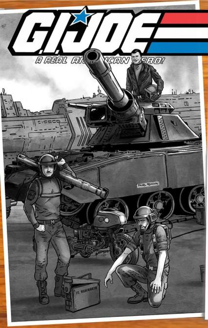 Jay Sullivan GI Joe Original 13 Artwork - Surveillance Port 10
