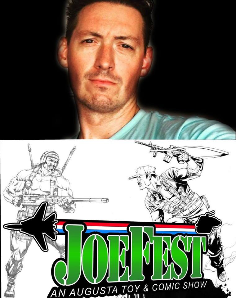 JoeFest Toy and Comic Show Robert Atkins Banner - Surveillance Port
