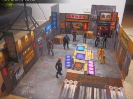 Printable DIY CX Dioramas - Surveillance Port 03