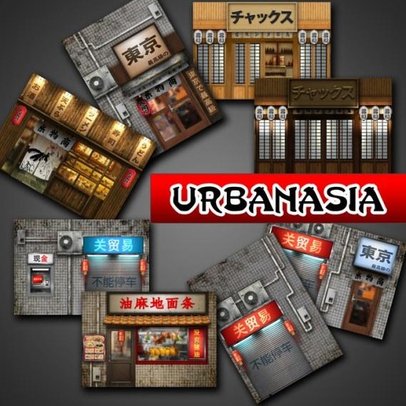 Printable DIY CX Dioramas - UrbanAsia