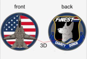 The Finest K9 Warriors Indiegogo Coin - Surveillance Port