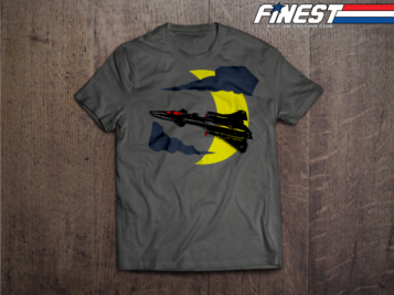 The Finest K9 Warriors Indiegogo Tee Shirt - Surveillance Port 01