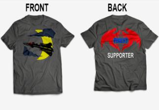 The Finest K9 Warriors Indiegogo Tee Shirt - Surveillance Port 02