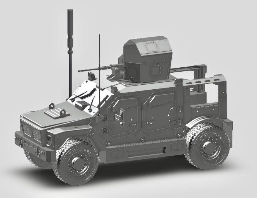 Wayward Goat Collectibles MARV Design Revision - Surveillance Port