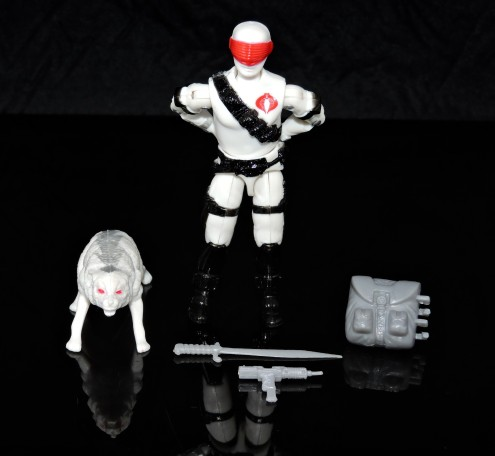 2019 Black Major Toys White Cobra Mortal - Surveillance Port (01)