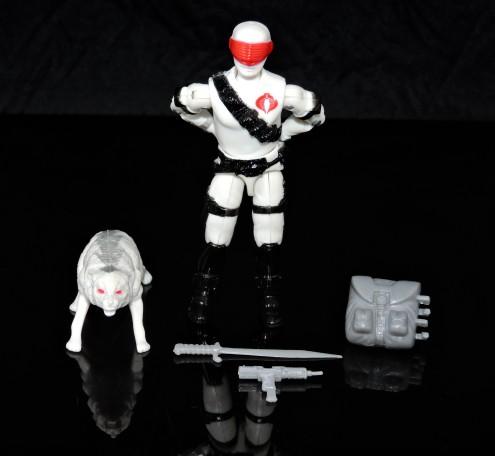2019 Black Major Toys White Cobra Mortal - Surveillance Port (01)
